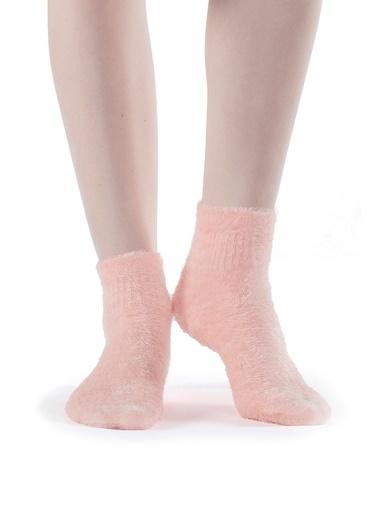 Hays Kadın Pofuduk Çorap Pembe